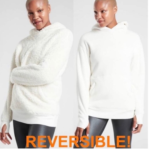 Athletes Solstice Reversible Sherpa Sweatshirt
